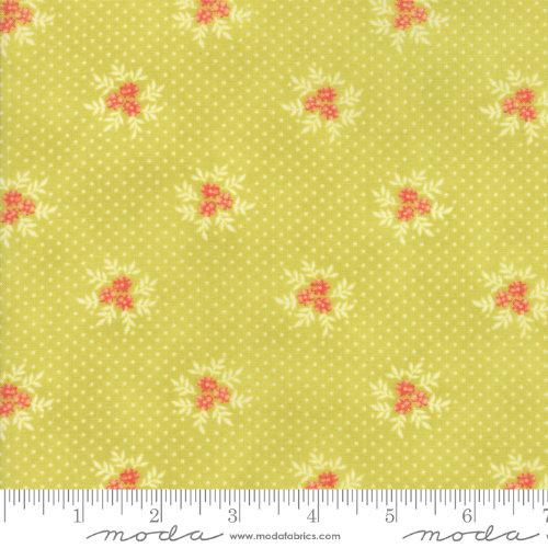 Moda Fabric - Ella and Ollie - Apple Posies 20307-15