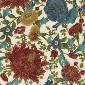 Timeless Treasures - Essex - Kelmscott Floral Cream