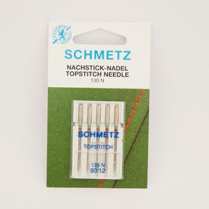 Schmetz Topstitch Needles - Size 80 - Pack of 5