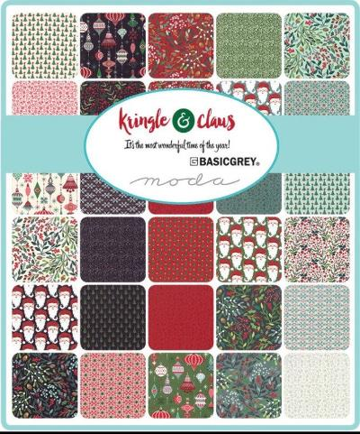 Moda Fabric Kringle and Claus