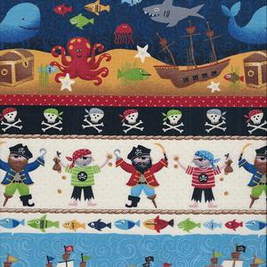 Makower Pirates Fabric