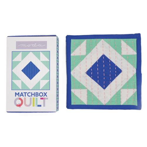 Moda Matchbox Quilt - No 5 Cobalt Blue