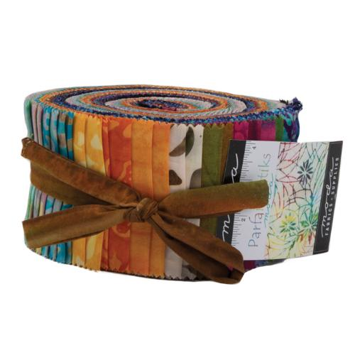 Moda Parfait Batiks Jelly Roll