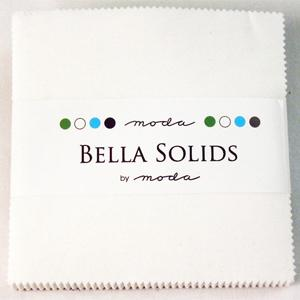 Moda Bella Solids Charm Pack - White 9900-98
