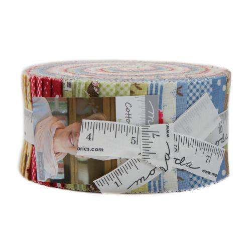 Moda Cottontail Cottage Jelly Roll