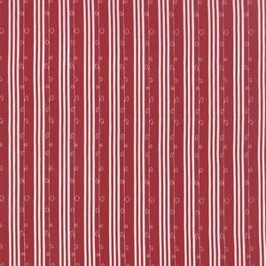 Moda Mistletoe Lane - Crimson Stripe 2887-11