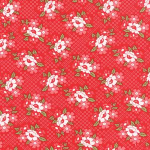 Moda Daysail - Red Blooms 55107-11