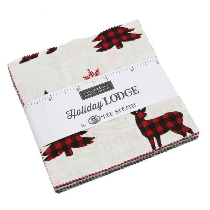 Moda Holiday Lodge Charm Pack