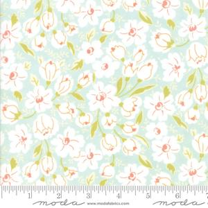 Moda Fabric Coney Island - Ocean Blue Buttercups 20285-13