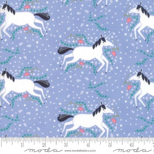 Moda Enchanted - Lavender Unicorns