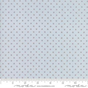 Moda Fabric Lily and Will Revisited - Blue Dimples Dots