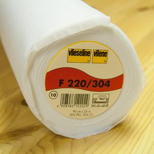 Vilene 220/304 Medium Iron-on Interlining
