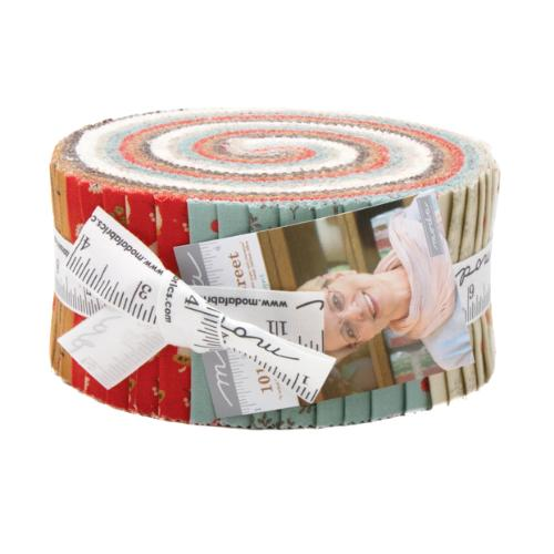 Moda 101 Maple Street Jelly Roll