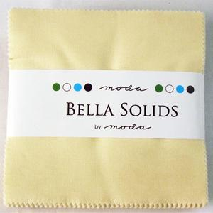 Moda Bella Solids Charm Pack - Snow 9900-11
