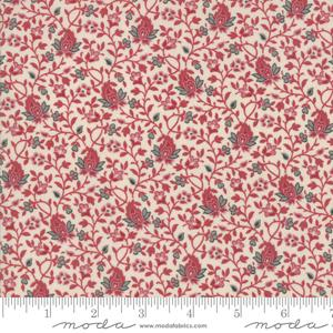 Moda Fabric - Pondicherry - Pearl Red Acaia
