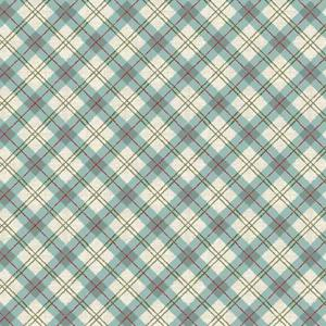 Makower Balmoral - Plaid Blue