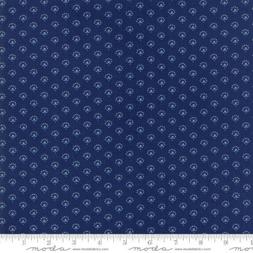 Moda Fabric - Regency Blues - English Blue Lindisfarne