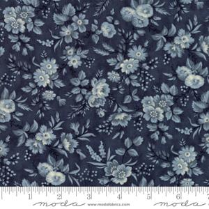 Moda Fabric Snowberry - Midnight Delicate Sprays