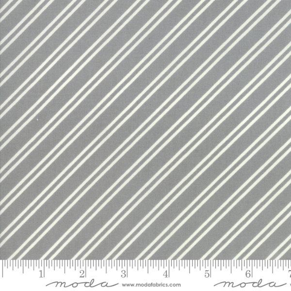 Moda At Home - Diagonal Stripe Gray