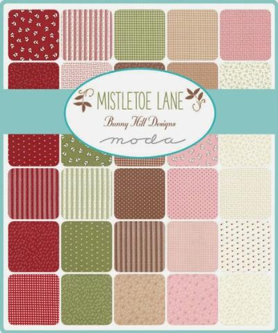 Moda Fabric Mistletoe Lane
