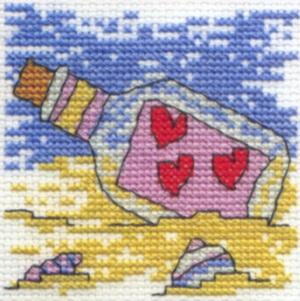 Message in a Bottle Cross Stitch Kit