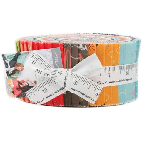 Moda Creekside Jelly Roll