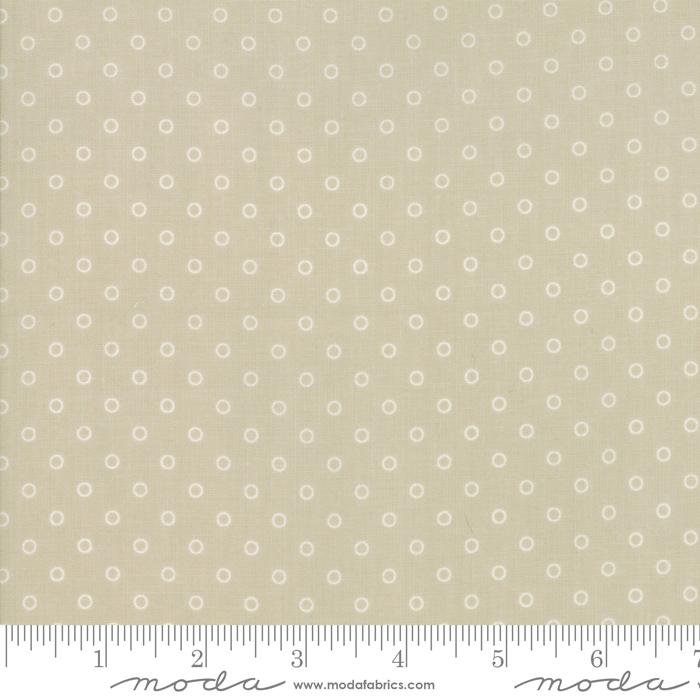 Moda Smitten - Linen Little Darling Dot 55172-14