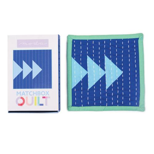 Moda Matchbox Quilt - No 3 Blue