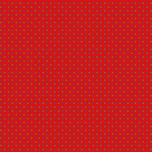Stof Fabrics - OBO - Spots on Red