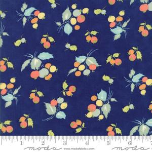 Moda Fabric Coney Island - Midnight Blue Blueberries 20286-11