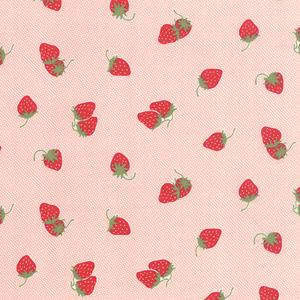 Moda Hello Darling - Coral Strawberries & Cream