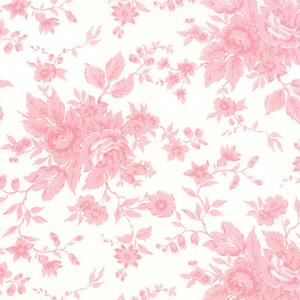 Moda Kindred Spirits - Ivory on Pink Antique Floral 2890-21