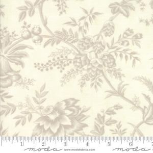 Moda Fabric Snowberry - Snow Floral Toile