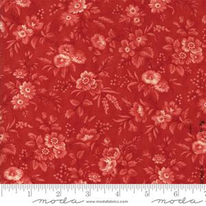 Moda Fabric Snowberry - Berry Delicate Sprays
