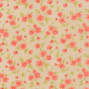 Moda Farmhouse - Pebble Gingham Blooms