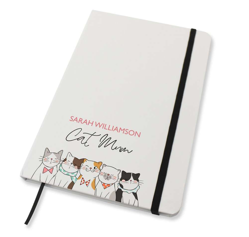 Cat mum notebook