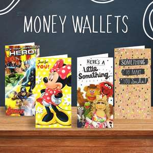 Take A Look At Our Variety Of Money Wallet Cards From Some Of The Best Publishers In The UK.