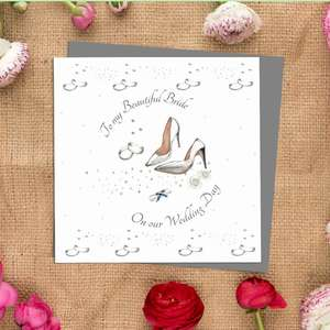 Wife Wedding Day Cards Image