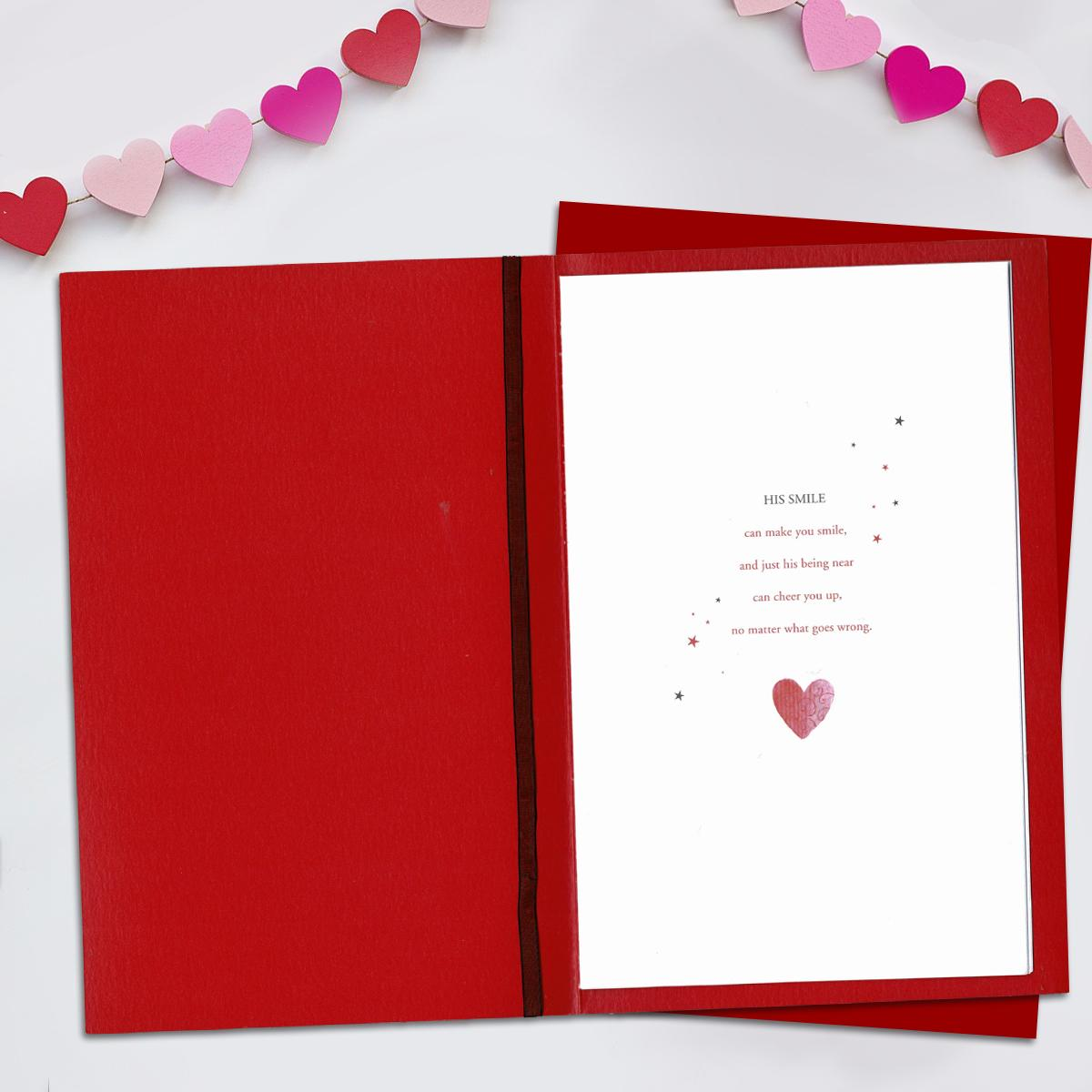 what is a husband valentine card