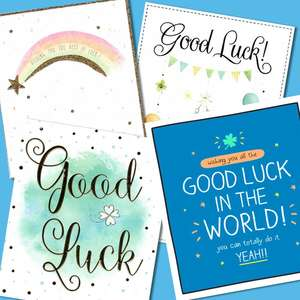 A Selection Of Cards To Show The Depth Of Range In Our Good Luck Section
