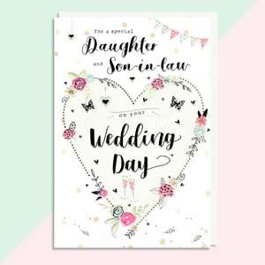 A Selection Of Cards To Show The Depth Of Range In Our Daughter And Son In Law Wedding Card Section