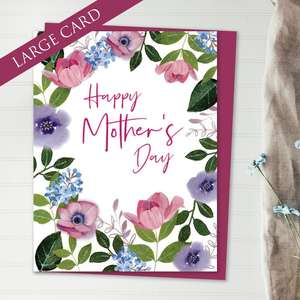 Amazing Pop Up Mother's Day Design Alongside Its Plum Envelope