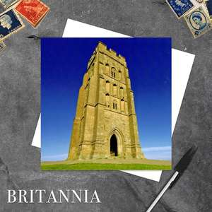 Glastonbury Tor, Somerset Blank Greeting Card