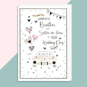 A Selection Of Cards To Show The Depth Of Range In Our Brother And Sister Wedding Card Section