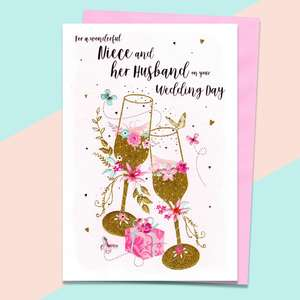 A Selection Of Cards To Show The Depth Of Range In Our Niece And Husband Wedding Cards Section