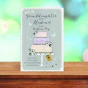 A Selection Of Cards To Show The Depth Of Range In Our Granddaughter And Husband Wedding Cards Section