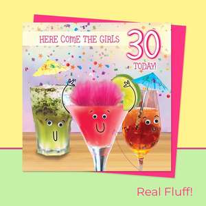 Fluff - 30 Today Cocktails Card Front Image