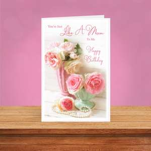 A Selection Of Cards To Show The Depth Of Range In Our Like A Mum Birthday Cards Section