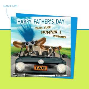 Happy Father's Day Taxi Driver Fluff Image