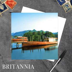 Lake District Blank Greeting Card